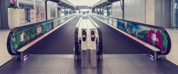 bigstock moving walkway